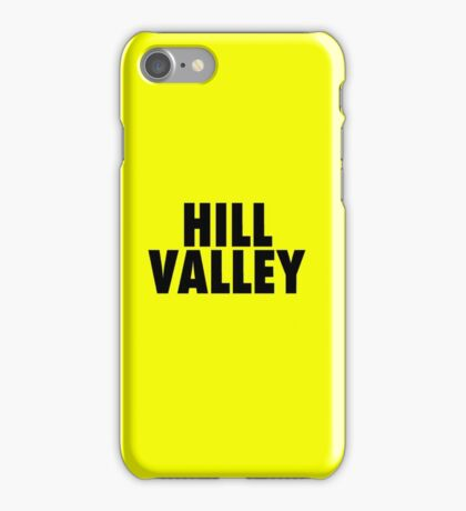 Hill Valley - Back To The Future iPhone Case/Skin