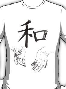 Japanese Kanji: Harmony T-Shirt