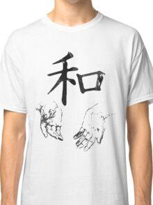 Japanese Kanji: Harmony Classic T-Shirt