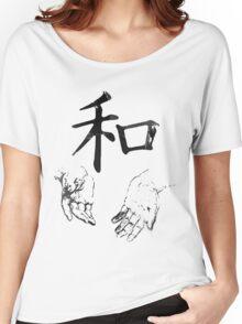 Japanese Kanji: Harmony Women's Relaxed Fit T-Shirt