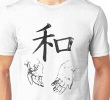 Japanese Kanji: Harmony Unisex T-Shirt