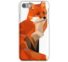 Low poly fox iPhone Case/Skin