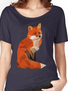 Low poly fox Women's Relaxed Fit T-Shirt