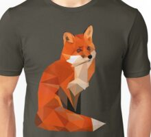 Low poly fox Unisex T-Shirt