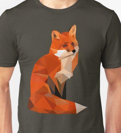 Low poly fox Unisex T-Shirt