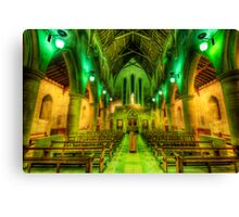Green Lanterns Canvas Print