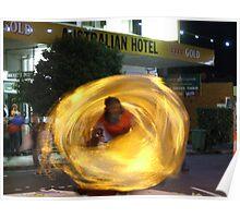 Swirling Dancer Poster