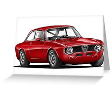 Alfa Romeo Gulia GTA Greeting Card