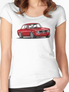 Alfa Romeo Gulia GTA Women's Fitted Scoop T-Shirt