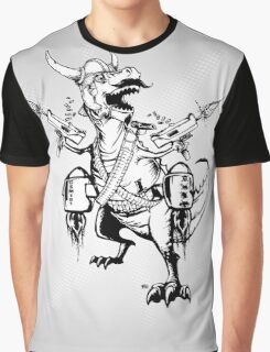 AWESOMEOSAURUS Graphic T-Shirt