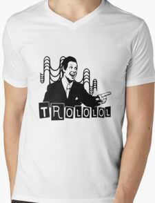Trololo  Mens V-Neck T-Shirt