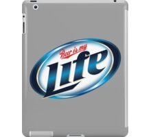 Beer is my Life - Parody Logo iPad Case/Skin