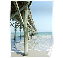 Wooden Pier Poster