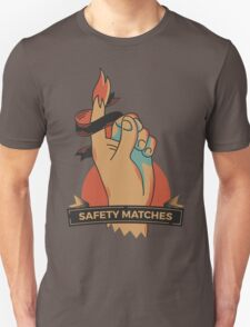 Safety Matches collection. Hand Unisex T-Shirt