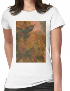 Flowers 1 Womens Fitted T-Shirt
