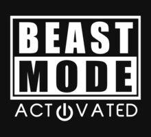 Beast Mode Gym Bodybuilding Sport Motivation by NibiruHybrid