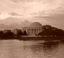 Jefferson Memorial by Jennie Whiting