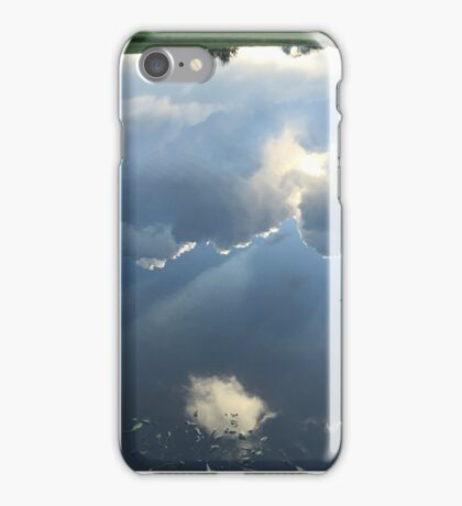 Water Reflection of the Sky iPhone Case/Skin