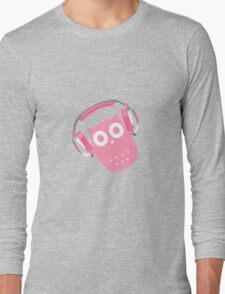 Owl be listening to music! Long Sleeve T-Shirt
