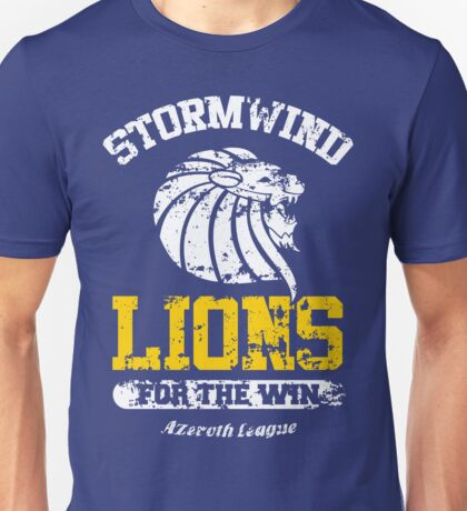 Lions For The Win!! Unisex T-Shirt