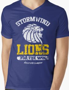 Lions For The Win!! Mens V-Neck T-Shirt
