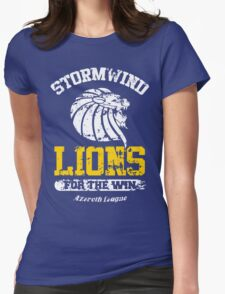 Lions For The Win!! Womens Fitted T-Shirt