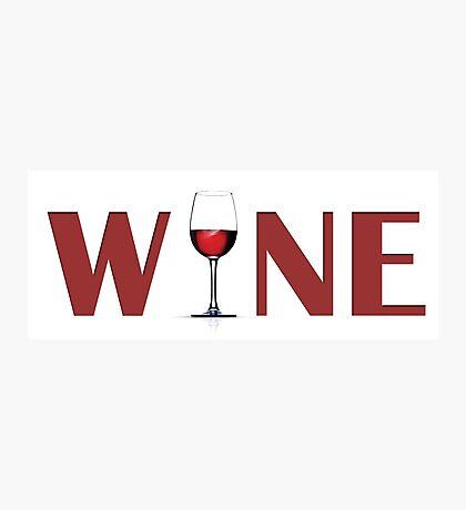 Wine Photographic Print