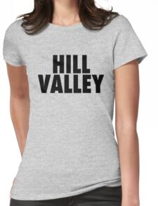 Hill Valley - Back To The Future Womens Fitted T-Shirt