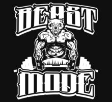 Beast Mode Gym Fitness Sports by NibiruHybrid