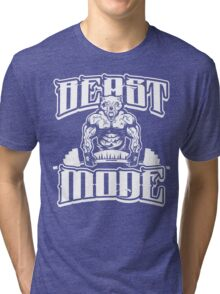 Beast Mode Gym Fitness Sports Tri-blend T-Shirt