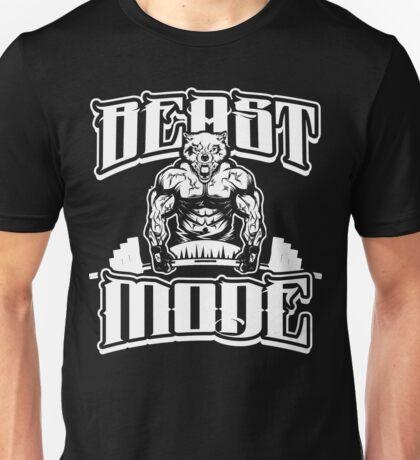 Beast Mode Gym Fitness Sports Unisex T-Shirt
