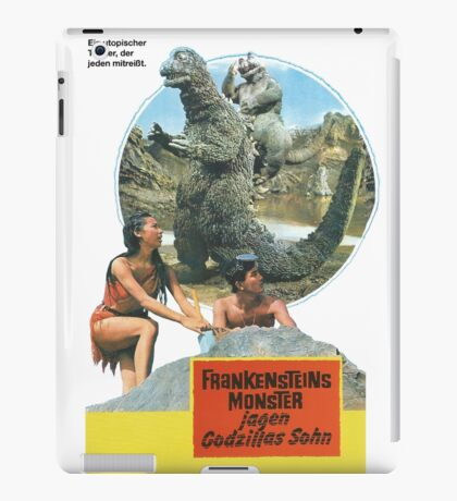 Frankensteins Monster iPad Case/Skin