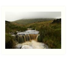 Mist Over Pendle Art Print
