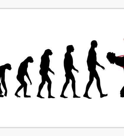 Rock Evolution Sticker