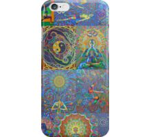Acrylic Yoga Paintings by Karmym iPhone Case/Skin
