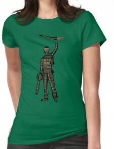 Army Of Darkness Ash Quotes Womens Fitted T-Shirt