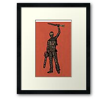 Army Of Darkness Ash Quotes Framed Print