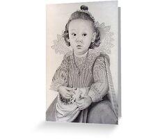 Lady Adora Greeting Card