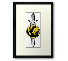 Terran Empire Logo from Star Trek Framed Print