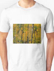 Red In The Aspen Unisex T-Shirt