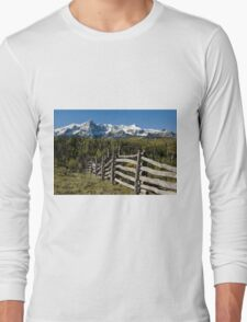 Fence To Nowhere Long Sleeve T-Shirt