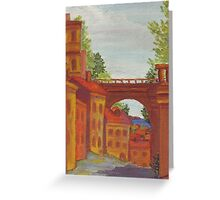 Old Odessa City oil painting Greeting Card