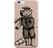 Pumpkin the Red Panda iPhone Case/Skin