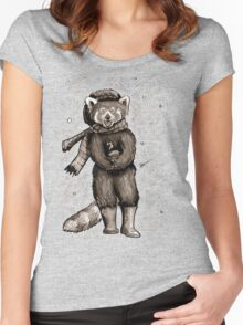 Pumpkin the Red Panda Women's Fitted Scoop T-Shirt