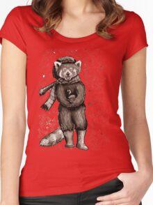 Pumpkin the Red Panda Women's Fitted Scoop T-Shirt