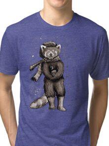 Pumpkin the Red Panda Tri-blend T-Shirt