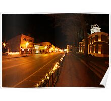 West Liberty, KY...My Hometown Poster