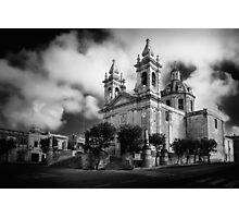 Sannat Parish Church Photographic Print