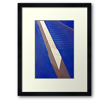 BEAUTY IN FUNCTION Framed Print
