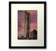 Eight Spruce Street, Gehry's New York Skyscaper Framed Print